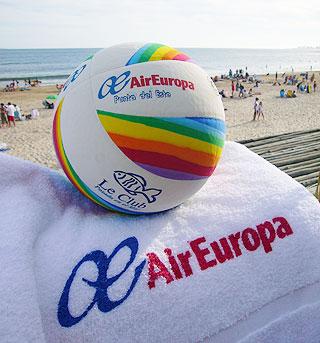 Airportnews ezeiza air europa implementa una original manera de agasajar a sus clientes en - Oficinas air europa madrid ...